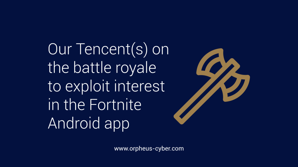 Our Tencent(s) on the battle royale to exploit interest in