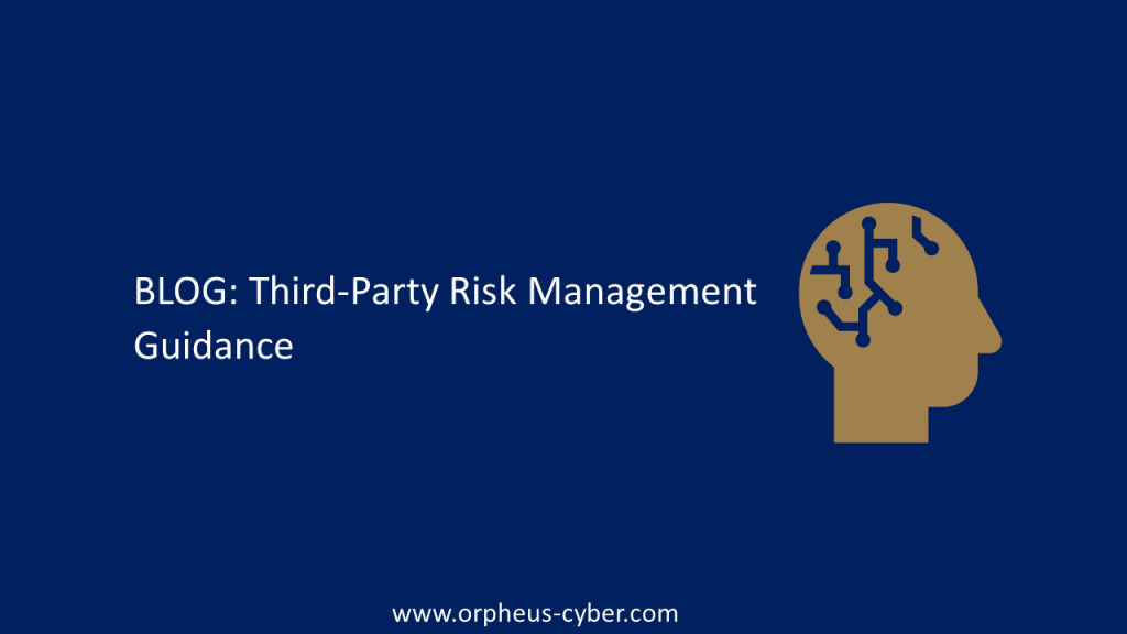 Third-Party Risk Management Guidance