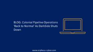 colonial pipeline ransomware attack