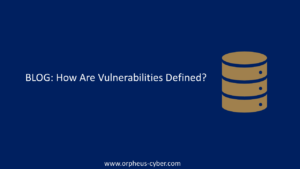 How Are Vulnerabilities Defined